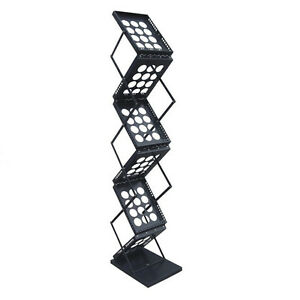 2 Pcs Pop up Brochure Holder Literature Rack For Magazines