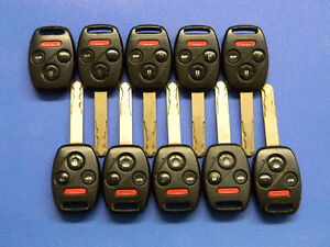 Lot Of 10 Honda Keyless Entry Remote Fob Oucg8d 380h a Oucg8d380ha
