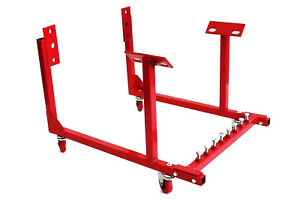 Heavy Duty 1000lbs Engine Transport Stand Cradle W Casters Sbc Bbc