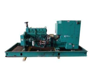 Used Cummins 230 Kw Standby 210 Kw Prime Rated Diesel Generator Set Model Df