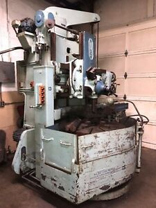 Used Vertical Turret Lathe 40 Niles Model Fpw