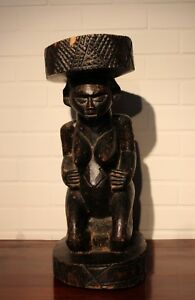 Congo Old African Stool Chaise Ancien Suku Africa Afrika Afrique Stoel Tabouret