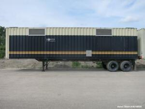 Used Kohler 40 Rental Grade Sound Attenuated Generator Container Mounted On A