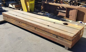 120 X 29 25 X 12 Thick Steel Welding T slot Table Cast Iron Layout Plate Fixt