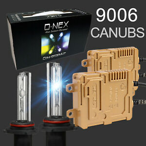 O nex 9006 Canbus Hid Kit Ac 55w Slim Ballast Super Bright Headlight Bulb 8k 10k