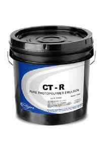 New Fresh Chromaline Ct r Emulsion red In Color 1 Gallon Authorized Dealer