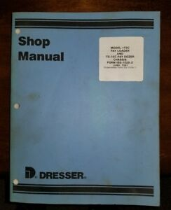 International Payloader 175c Dozed Td 15c Service Shop Manual Iss 1528 2