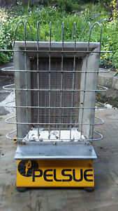 Pelsue 1557 Radiant aerial buried Tent Heater With 24 Ft Propane Hose