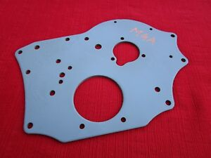 Clean Nicely Reconditioned Oem Front Engine Plate For Mga 1500 And 1600 Engines