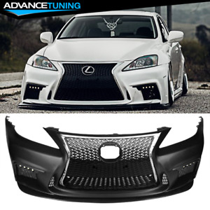 Fits 06 13 Lexus Is250 Is350 4dr Esprit Style Front Bumper Cover With Grille