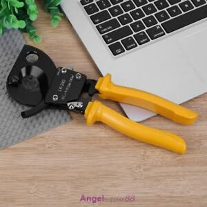 Ratchet Cable Cutter Scissor For Copper Aluminum Cable Copper Armoured Hand Tool