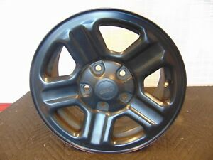 Jeep 2007 2015 Wrangler Oem 16 Inch Black Steel Wheel Rim Wheels