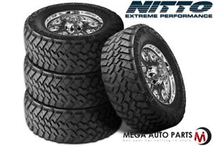 4 X New Nitto Trail Grappler M T 35x12 50r17 121q E 10 Mud Terrain Tires