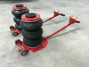 Quick Lift Triple Bag Air Go Bag Jack 3 Ton Auto Shop Tire Shop 2 Pcs Heavy Duty