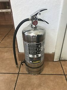 New 2017 Amerex 2 5 Gallon Water Fire Extinguisher With Schrader Valve