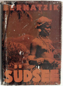 1949 Bernatzik South Pacific Solomon Islands Book Enlarged Ed In Photogravure