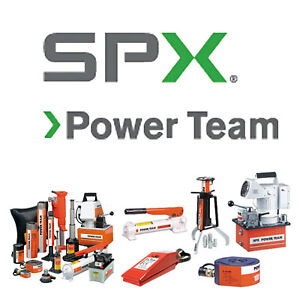 Pe174m Spx Power Team Electronic Portable 2 speed Pump Aluminum Reservoir 4 way