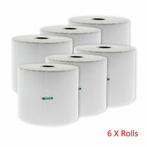 X 4 6 Thermal Shipping Labels 500 Per 6 Roll For Zebra Zp 500 505 450