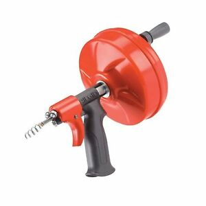 Ridgid 41408 Power Spin With Autofeed Maxcore Drain Cleaner Cable And Bulb Dr