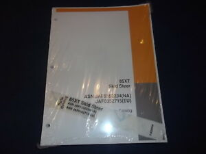 Case 85xt Skid Steer Parts Book Manual New