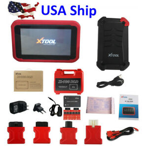 Us Ship Xtool X100 Pad Tablet Auto Programmer Code Reading With Eeprom Adapter