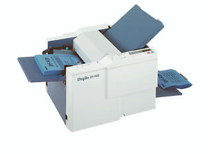 Duplo Df 920 Table Top Friction Paper Folder