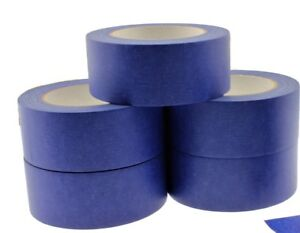 5x 2 Blue Painters Masking Tape Walls Trim Floor Auto Glass Uv Outdoor 21 Day