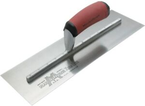 Drywall Trowel High Carbon Steel Blade And Amp Curved Rubber Handle 11 Inch 1