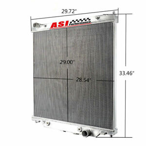 6 0l Aluminum Radiator For 2003 2007 Ford F250 F350 Powerstroke At mt 2004 05 06