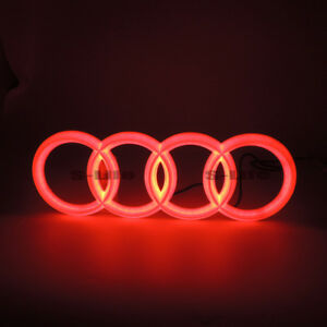 Front Illuminated Led Grille Blled Logo Emblem Light For Audi A1 A3 A4 A5 Rs3