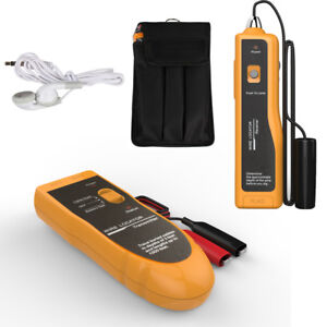 Underground Cable Hidden Wire Locator Tracker Tester Lan With Earphone