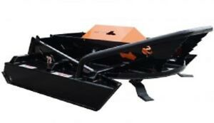 72 Hf Open Front Industrial Brush Cutter Mower Skid Steer Loader Attachment Asv