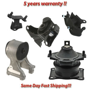 Engine Motor Trans Mount Set 5pcs For 2005 2006 Honda Odyssey Lx Ex 3 5l V6
