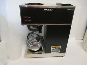 Bunn Vpr Pourover Commercial Coffee Brewer 2 Warmers 120v W decanter New