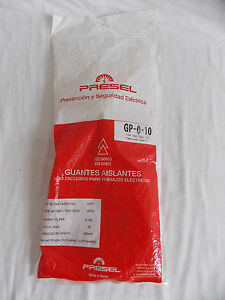 Supersafe Electrical Insulating Gloves Gp 0 10 Class 0 1000 Volt