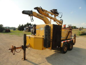 2006 Vermeer Bc2000xl Wood Chipper Brush Cutter Forestry W Grapple Loader