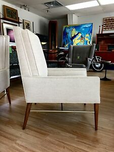 Pair Of Paul Mccobb Directional Lounge Chairs