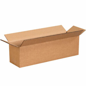 50 14 X 4 X 4 Cardboard Shipping Boxes Long Corrugated Cartons