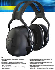 3m Db Ear Muffs Sound Hearing Protection Noise Reduction For Gun Range Shooting