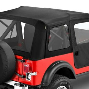 For Jeep Cj5 59 75 Bestop Supertop Black Crush Complete Replacement Soft Top