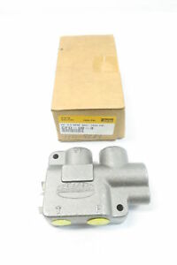 New Parker Cfd 50 3 3gpm 3 8in Npt Hydraulic Flow Control Valve