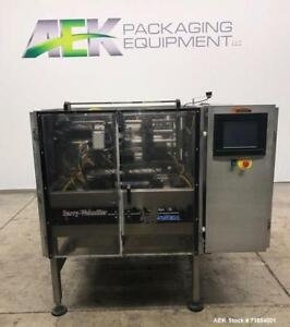 Used Hayssen Form And Fill Vertical Packager With Poly Film Jaws Model 12 16hp
