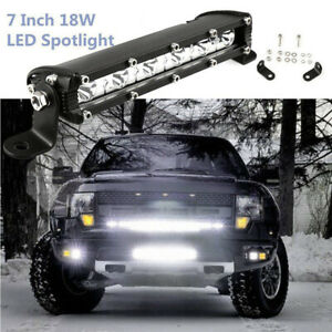 Essgoo 7 Inch 18w Off Road Led Work Driving Flood Light For Jeep Truck 4wd Atv