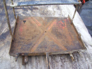 Vintage Ji Case 400 Diesel Tractor battery Tray 1955