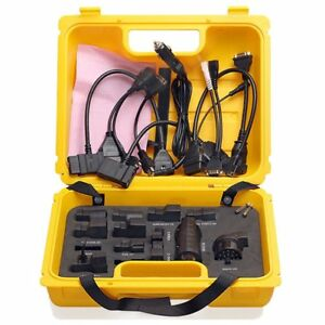Launch Yellow Box Launch X 431 Diagun Iv Connector Full Set Package Work With X4