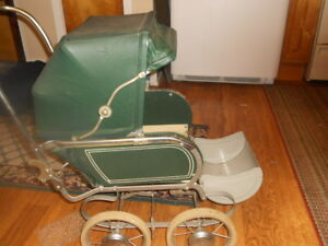 Vintage Collier Baby Doll Buggy Stroller Carriage