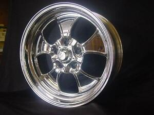1 18x 11 American Racing Custom Bilt Hopster Ford Mopar Chevy Wheels