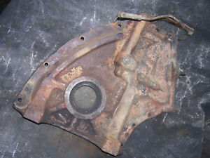 Original Massey Harris 555 Diesel Tractor Engine Front Cover