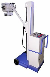 Mobile X ray Machine line Frequency Human And X ray Veterinary 100 Ma 100 Kv