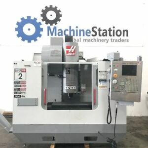Haas Vf 2ss Vertical Machining Center 12000 Rpm 4th Axis Vf 2ss Cnc Mill